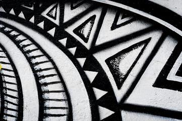 Graffiti motif graphique