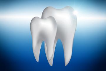 Gesunde Zähne - klein und groß