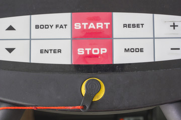 start and stop buttom