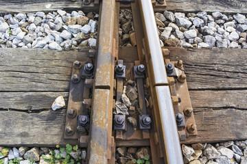 Intersection railroad tracks