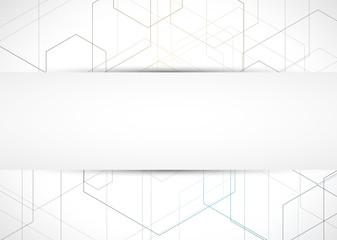Futuristic light technology background