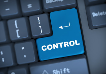 3d keyboard text control