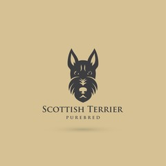 Scottish terrier symbol