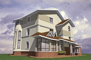 Volume Model Cottage