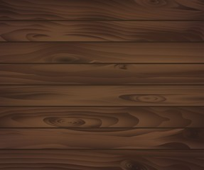 Wooden texture of dark brown boards. For natural background design. For interior or construction design usage