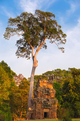 North Khleang towers in Angkor Thom complex