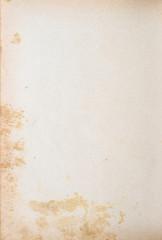 Handgeschöpftes vergilbtes Papier - Retro Hintergrund