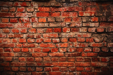 Brick old background