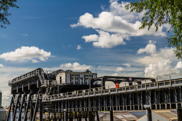 Anderton Boat Lift, canal escalator