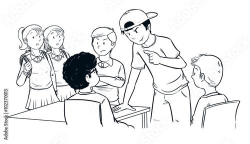 Colegio Dibujo. Best Escuela Dibujo Dibujos De Escuelas