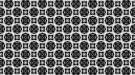 Орнамент с элементами чёрного и светло-серого цветов. 10