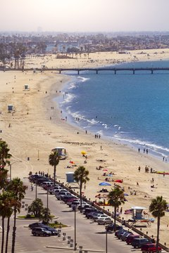 Pier in Long Beach, Los Angeles, California