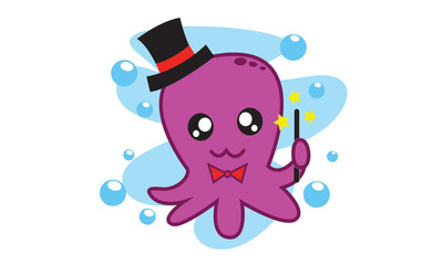 Octopus Magician