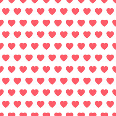 Set of retro love patterns. Seamless vector background.valentine day