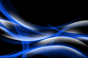 Abstract Blue Shiny Background Design