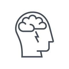 Brain storming icon