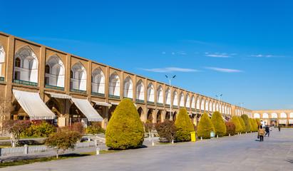 Naqsh-e Jahan Square in Isfahan - Iran