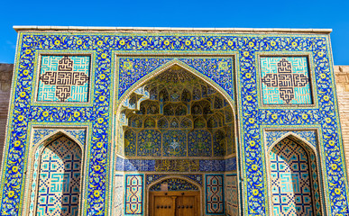 Gate to Shah Mosque in Isfahan, Iran