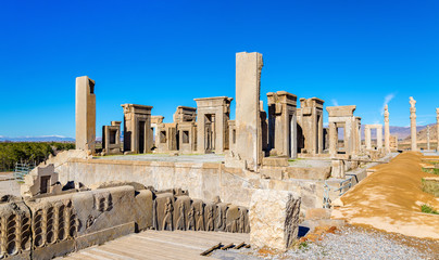Tachara Palace of Darius at Persepolis, Iran