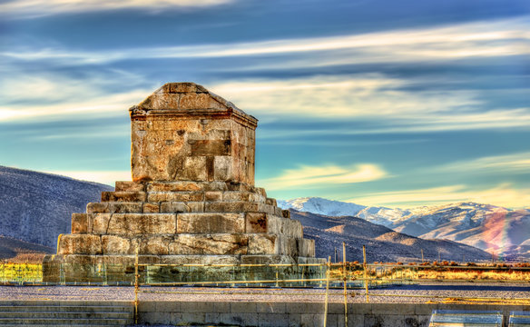 Tomb of Cyrus the Great in Pasargadae - Iran