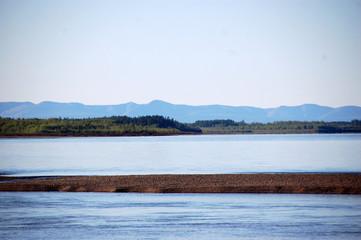 Kolyma river coast