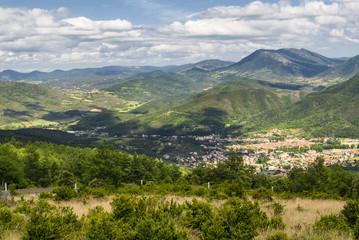 Landscape in Midi-Pyrenees (France)