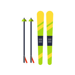 Ski Flat Icon