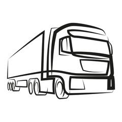 ciężarówka wektor