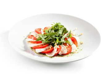 Caprese with Rocket Salad