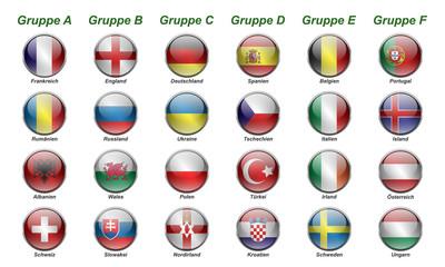 EM 2016 - Gruppen
