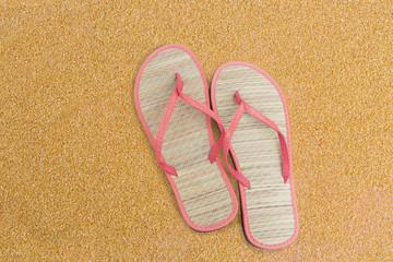 Pink flip flips