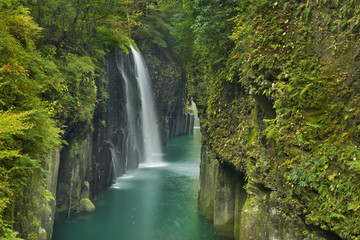 The Takachiho Gorge on the island of Kyushu, Japan