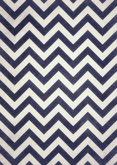dark navy blue and black chevrons texture on old white distressed background design, dark zigzag pattern, groovy vintage background