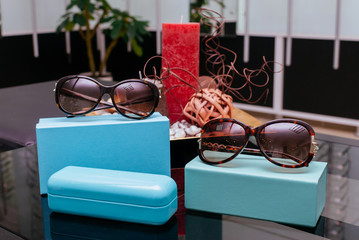 Modern fashion sunglasses