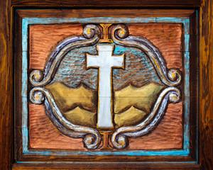 Christian Cross Carving