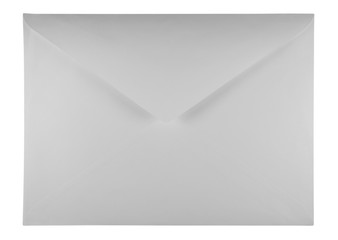 Blank envelope - white