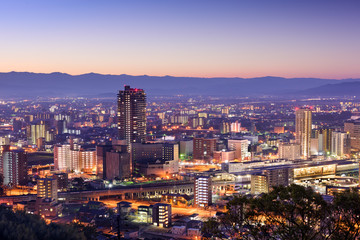 Kumamoto Japan Skyline