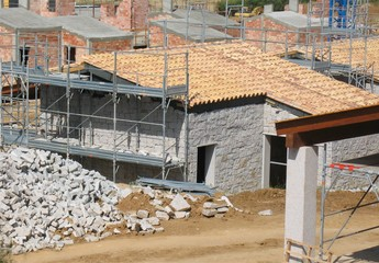 Building site in the south of Sardinia