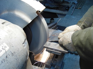 processing of grinding machine
