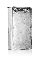 Silver wrapping foil