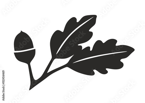 Eichenblatt Symbol