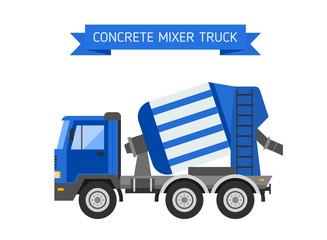 Building under construction cement mixer machine