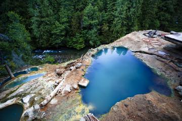 North Umpqua River Hot Springs Pools