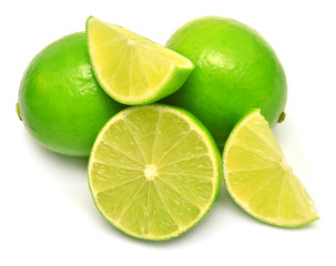 Limes and sliced limes