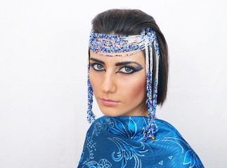 woman with egyptian look