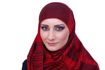 muslim girl portrait