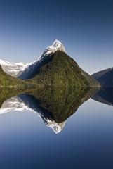 Mitre Peak, Milford Sound, Fiordland National Park, South Island, New Zealand