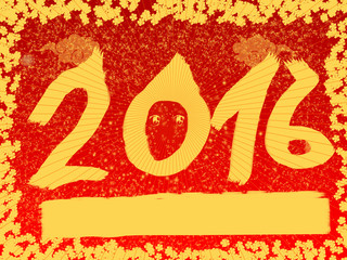 abstract background happy chinese new year