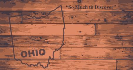 Ohio Map Brand