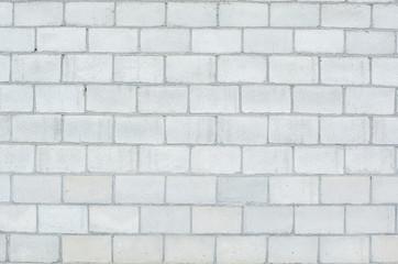 wall of cinder block